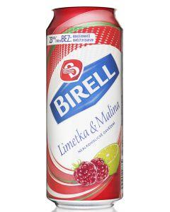 BIRELL NEALKOHOLICKE PIVO LIMETKA & MALINA - 0.5l