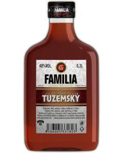 FAMILIA TUZEMSKY RUM 40% - 0.2l