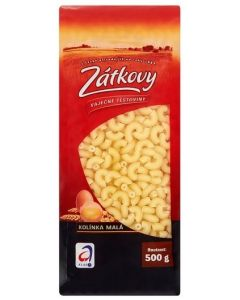 ZATKOVY VAJECNE TESTOVINY KOLINKA MALA - 500g (box of 12)