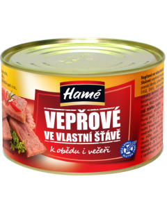 HAME VEPROVE MASO VE VLASTNI STAVE - 180g