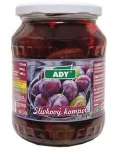 ADY KOMPOT SLIVKY - 720ml