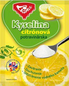 KYSELINA CITRONOVA - 20g